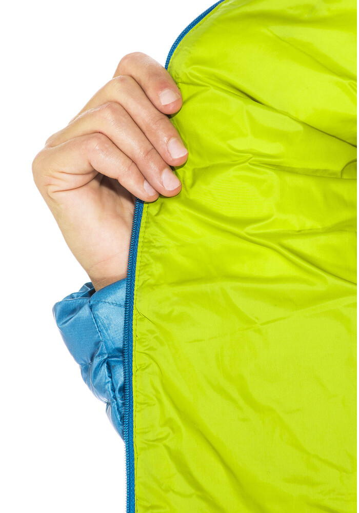 The North Face Bergsportjacke >> Berghaus Extrem Micro Down Jacket Women Mykonos Blue/Citronelle | campz.de